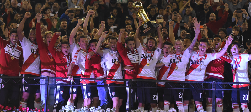 River Campeón Recopa Sudamericana K-Sport
